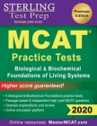 Sterling Test Prep MCAT Practice Tests: Biological & Biochemical Foundations of Living Systems Cover Image