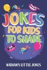 Jokes for kids to share: joke books for kids 8-10 with tons of jokes for kids Cover Image