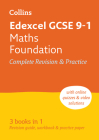 Collins GCSE Revision and Practice - New 2015 Curriculum Edition — Edexcel GCSE Maths Foundation Tier: All-In-One Revision and Practice Cover Image