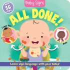 Baby Signs: All Done! Cover Image