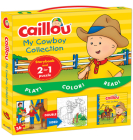 Caillou, My Cowboy Collection: Includes Caillou, the Cowboy and a 2-In-1 Jigsaw Puzzle [With 36-Piece Double-Sided Jigsaw Puzzle] Cover Image