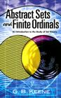 Abstract Sets and Finite Ordinals: An Introduction to the Study of Set Theory (Dover Books on Mathematics) Cover Image