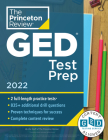 Princeton Review GED Test Prep, 2022: Practice Tests + Review & Techniques + Online Features (College Test Preparation) Cover Image