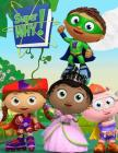 Super Why: Coloring Book Amazing Coloring Book With 30 High Quality Images Cover Image