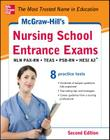 McGraw-Hill's Nursing School Entrance Exams, Second Edition: Strategies + 8 Practice Tests Cover Image