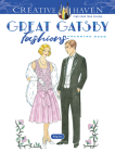 Creative Haven the Great Gatsby Fashions Coloring Book (Creative Haven Coloring Books) Cover Image