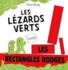 Les L?zards Verts Contre Les Rectangles Rouges Cover Image