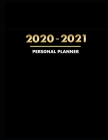 Personal Planner: 2020 - 2021 Weekly and Monthly Planner - To Do List, Appointment Notebook Cover Image