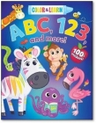 Color & Learn Abc, 123, & More Cover Image