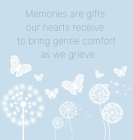 In Loving Memory Book to sign (Hardback cover) Cover Image