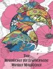 Muster Malbücher - Malbücher für Erwachsene - Tier Cover Image