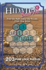 Hidato Beehive 6: 203 New Logic Puzzles Cover Image