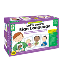 Let's Learn Sign Language, Grades Pk - 2 Cover Image