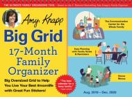 2020 Amy Knapp's Big Grid Family Organizer Wall Calendar: August 2019-December 2020 Cover Image