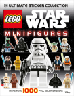 Ultimate Sticker Collection: LEGO® Star Wars: Minifigures: More Than 1,000 Reusable Full-Color Stickers Cover Image