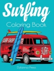 Surfing Coloring Book: An Adult Coloring of Surf, Waves, and Ocean Cover Image