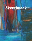 Sketchbook: Challenge Techniques, with prompt Creativity Pro Drawing Writing Sketching 150 Pages: A drawing book is one of the dis Cover Image