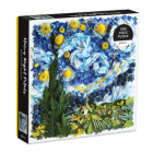 Starry Night Petals 500 Piece Puzzle Cover Image