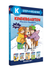 Kindergarten Phonics Readers Boxed Set: Jack and Jill and Big Dog Bill, The Pup Speaks Up, Jack and Jill and T-Ball Bill, Mouse Makes Words, Silly Sara (Step into Reading) Cover Image