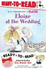 Eloise Ready-to-Read Value Pack: Eloise's Summer Vacation; Eloise at the Wedding; Eloise and the Very Secret Room; Eloise Visits the Zoo; Eloise Throws a Party!; Eloise's Pirate Adventure Cover Image