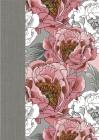 Biblia de la Mujer Conforme Al Corazón de Dios: Edición Peonía Lujo Cover Image