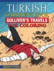 Turkish Children's Book: Gulliver's Travels for Coloring Cover Image