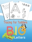Tracing For Toddlers BIG Letters: Letters and numbers tracing, Alphabet learning for toddlers and pre-schoolers Cover Image