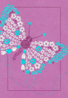 The Passion Translation New Testament (2020 Edition) Youth Girls Butterfly Cover Image