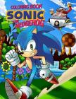 Sonic the Hedgehog Coloring Book Cover Image