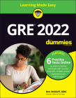GRE 2022 for Dummies with Online Practice Cover Image