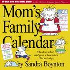 Mom's Family Calendar 2007 Cover Image