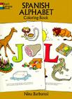 Spanish Alphabet Coloring Book Cover Image