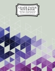 Graph Paper Notebook: Purple Grid Boxes Grid Paper Composition Notebook, Graphing Paper, Quad Ruled Cover Image