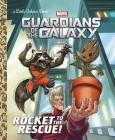 Rocket to the Rescue! (Marvel: Guardians of the Galaxy) (Little Golden Book) Cover Image