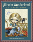 Alice in Wonderland Coloring Book Cover Image