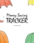 Money Saving Tracker - 10K EURO Saving Challenge (8x10 Softcover Log Book / Tracker / Planner) Cover Image