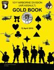 101st Airborne Division (Air Assault) Gold Book Cover Image