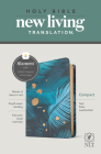 NLT Compact Bible, Filament Enabled Edition (Red Letter, Leatherlike, Teal Palm) Cover Image