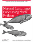 Natural Language Processing with Python: Analyzing Text with the Natural Language Toolkit Cover Image