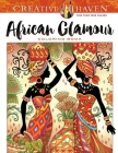 Creative Haven African Glamour Coloring Book Cover Image