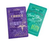Harry Potter: Character Notebook Collection (Set of 2): Dumbledore and Snape Cover Image