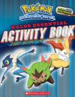 Pokémon: Kalos Essential Activity Book (Pokémon) Cover Image