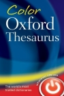 Color Oxford Thesaurus Cover Image