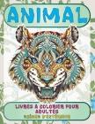 Livres à colorier pour adultes - Scènes d'extérieur - Animal Cover Image