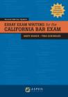 Essay Exam Writing for the California Bar Exam (Bar Review) Cover Image