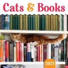Cats & Books 2021 Wall Calendar Cover Image