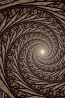 Spiralling Into The Abyss Notebook Cover Image