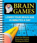 Brain Games #1: Lower Your Brain Age in Minutes a Day, 1 Cover Image