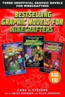 Bestselling Graphic Novels for Minecrafters (Box Set): Includes Quest for the Golden Apple (Book 1), Revenge of the Zombie Monks (Book 2), and The Ender Eye Prophecy (Book 3) (Unofficial Graphic Novel for Minecrafter) Cover Image