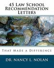 45 Law School Recommendation Letters That Made a Difference Cover Image